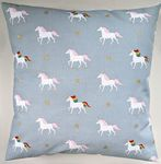 "Cushion Cover in Sophie Allport Rainbow Unicorn 14"" 16"" 18"" 20"""
